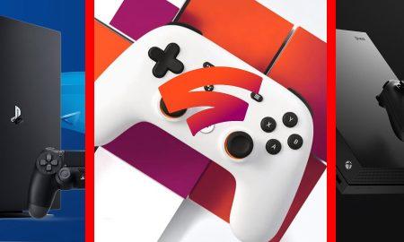 Google Stadia vs PS4 vs Xbox One