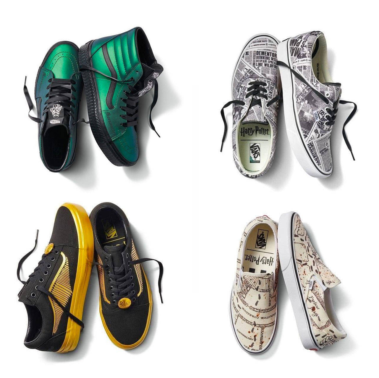 Dopo Game of Thrones e Avengers: Endgame, anche il mondo di Harry Potter ha le sue sneakers ufficiali 1
