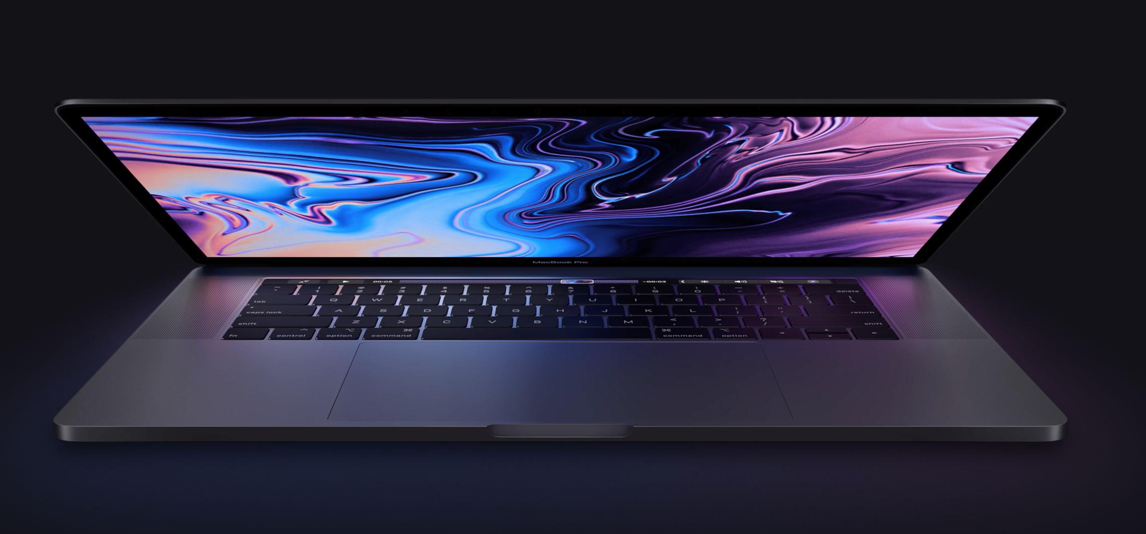 Apple rinnova i MacBook Pro con Intel Core i9 e una nuova generazione di tastiera a farfalla 1