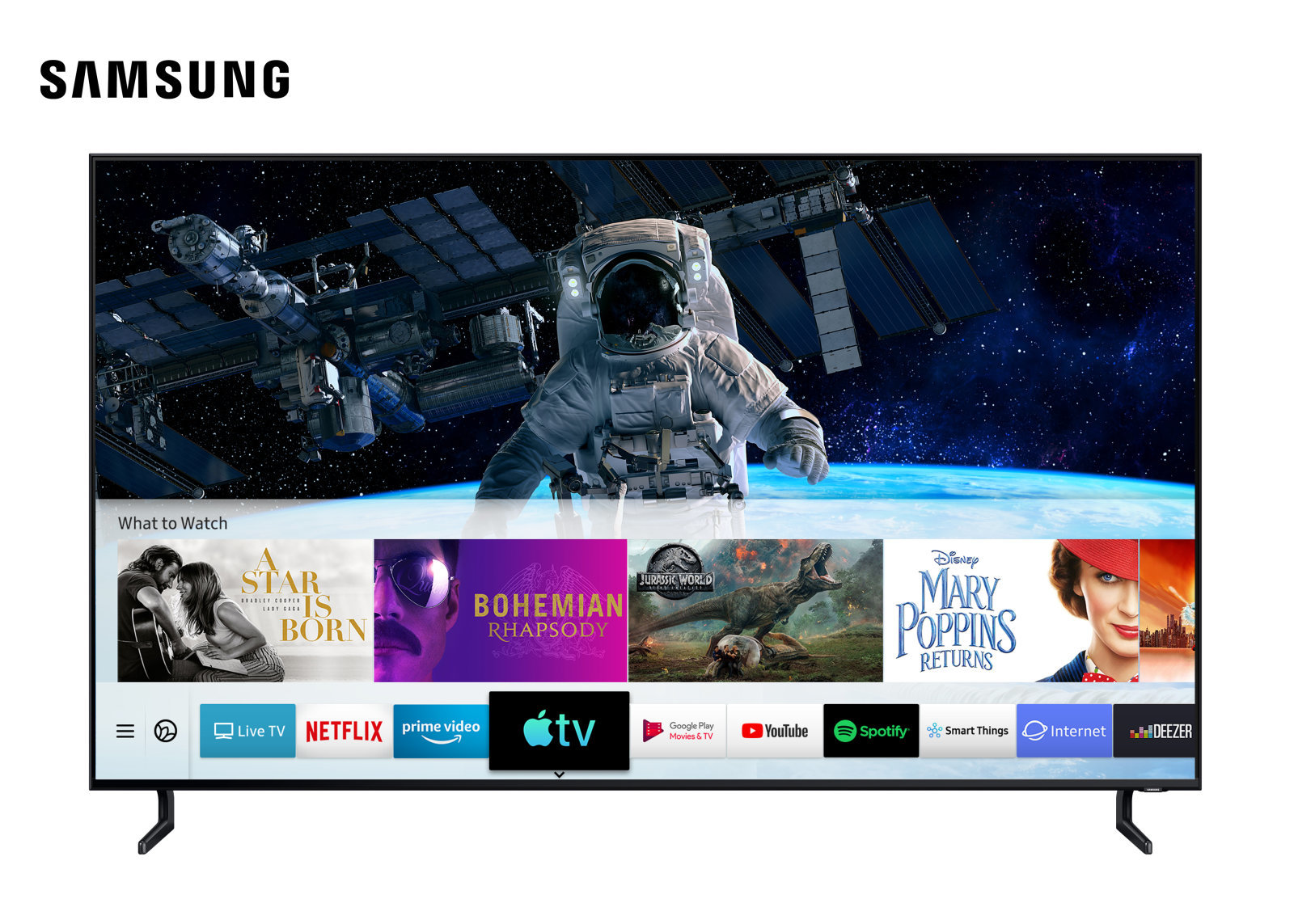 Samsung Smart TV Apple TV AirPlay 2