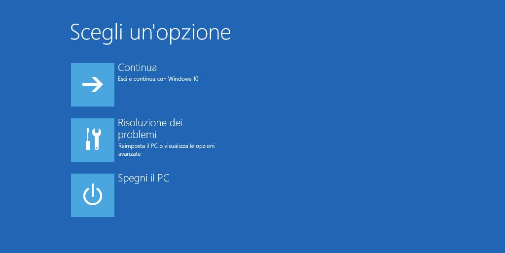 Non ripristinate Windows 10 pena il blocco completo | Guida 1