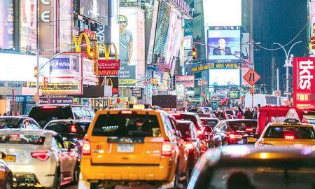 Uber monitoraggio velocità media città