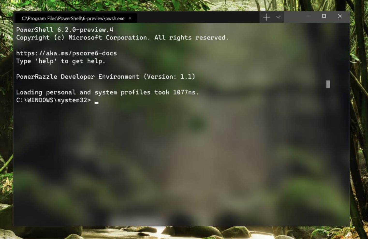 Windows 10 nuovo terminale