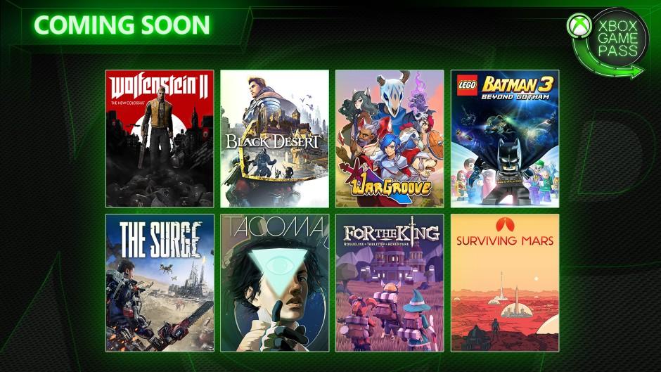 Xbox Game Pass maggio 2019