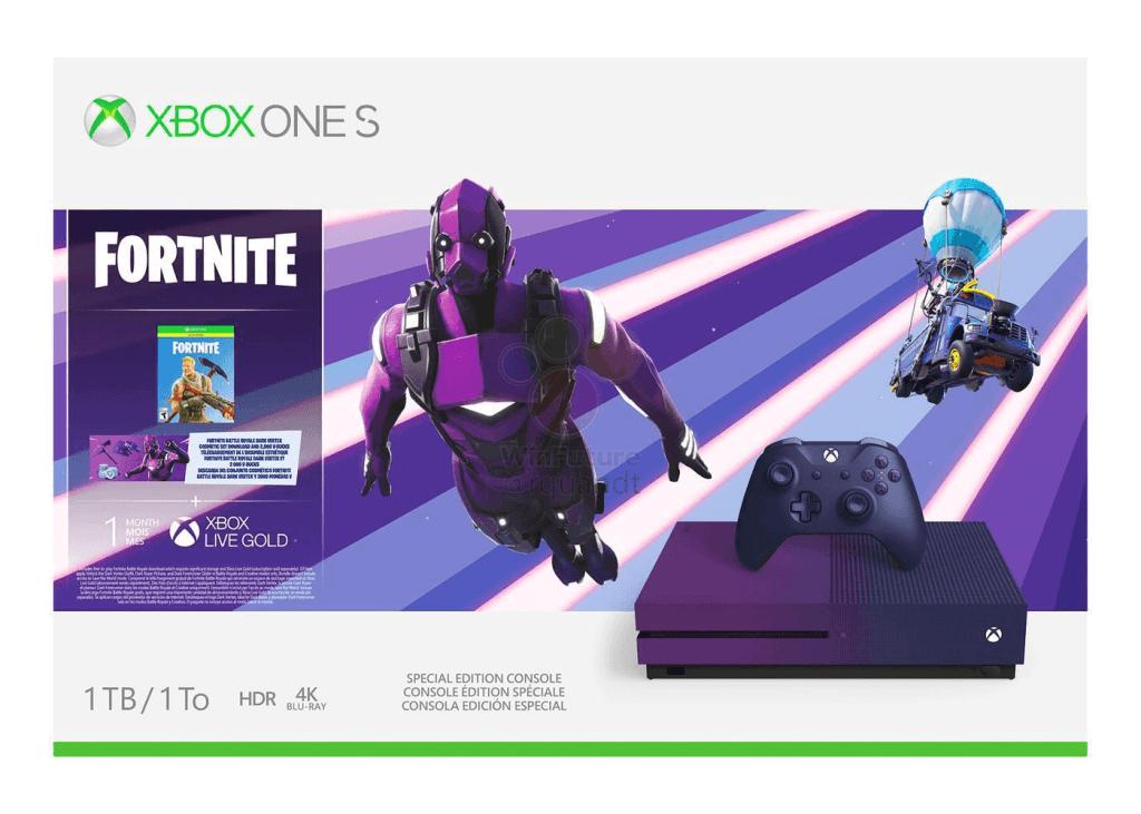 Nuove immagini per la Xbox One S Fortnite Special Edition 2