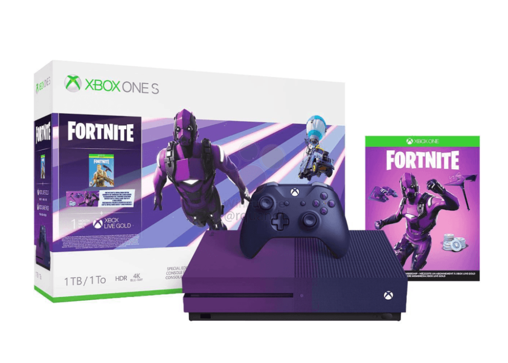 Xbox One S Fortnite Special Edition