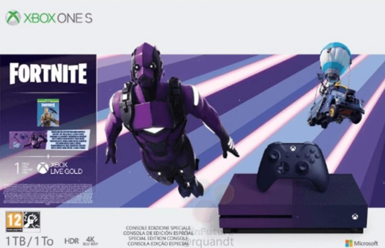 Xbox One S Fortnite