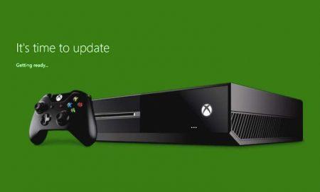 Xbox One aggiornamento