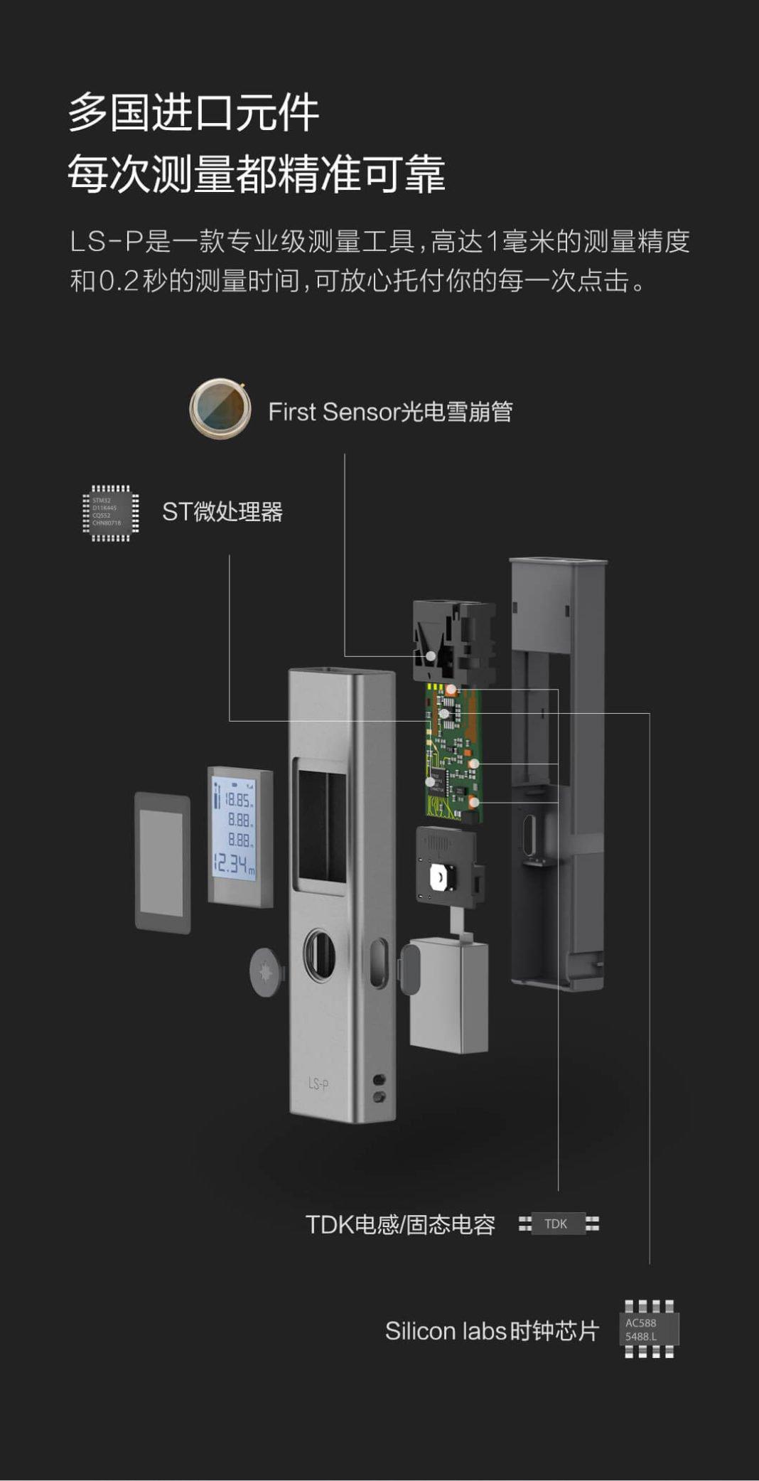 Xiaomi lancia un telemetro laser da appena 13 euro 1