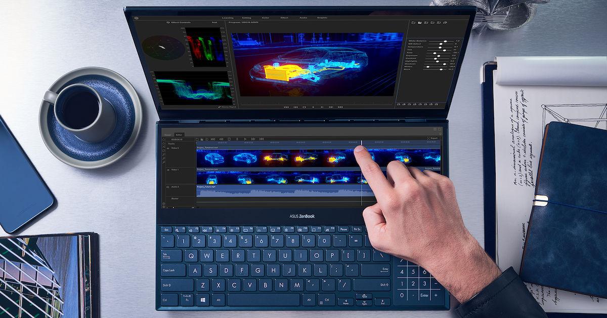 Le novità tecniche di Asus ZenBook Pro Duo, ZenBook 13, 14 e 15, ZenScreen Touch e ROG Strix XG17 al Computex 2019 1