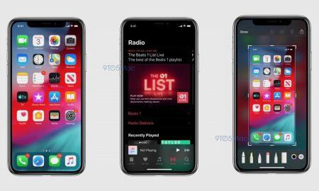 iOS 13 Dark Mode screenshot
