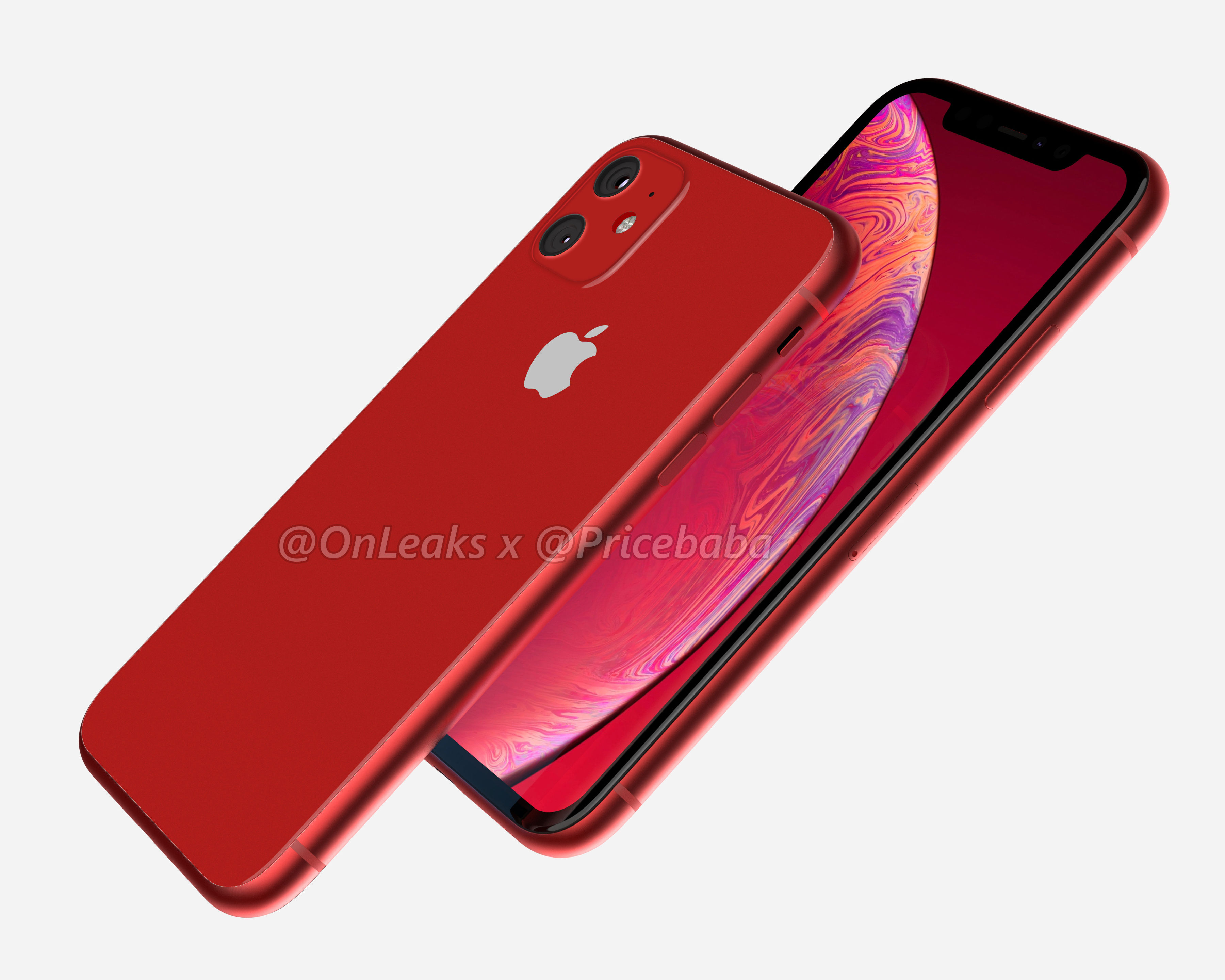 Nuovi render suggeriscono un iPhone XR 2019 con doppia fotocamera posteriore 2