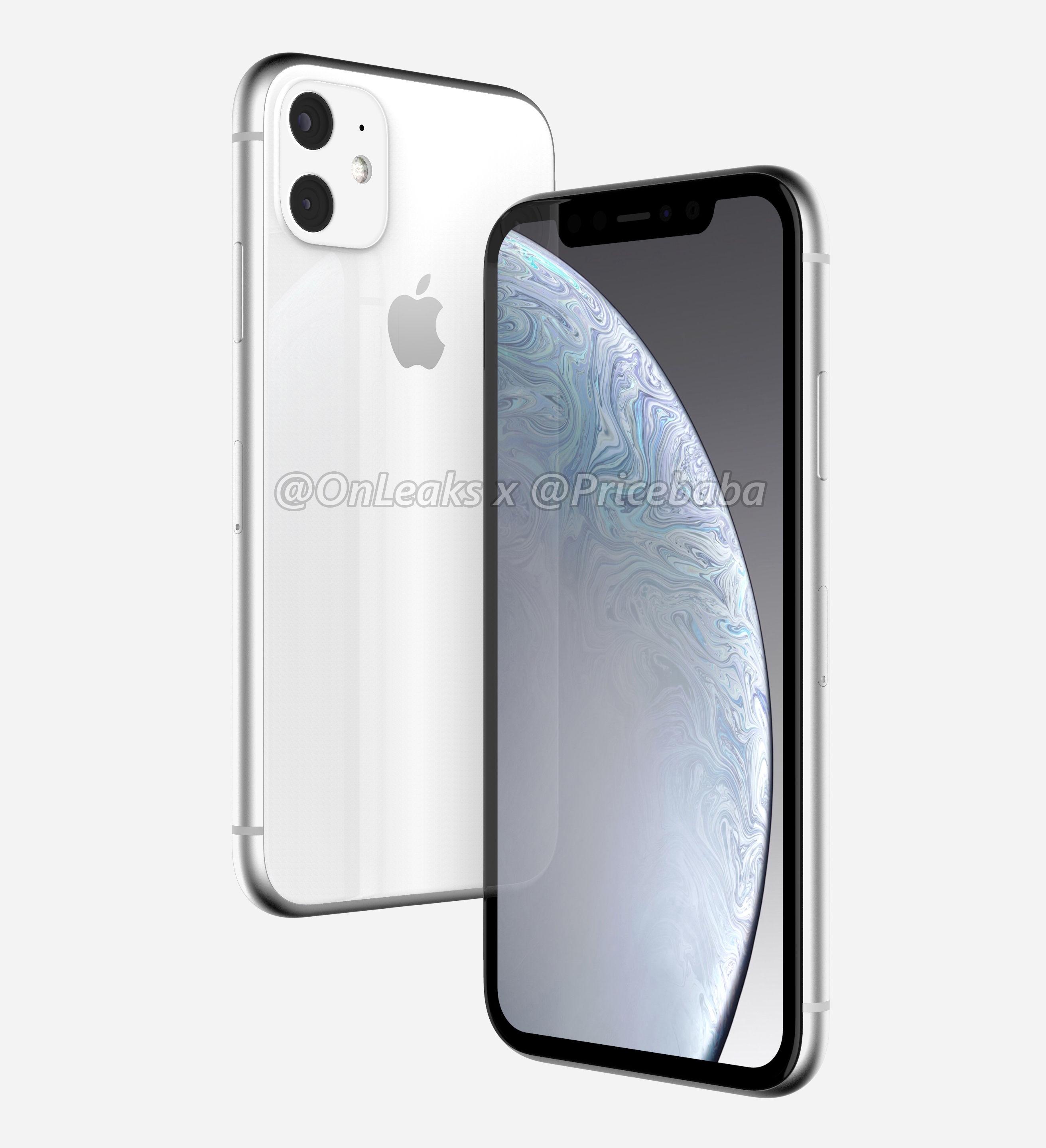 Nuovi render suggeriscono un iPhone XR 2019 con doppia fotocamera posteriore 1