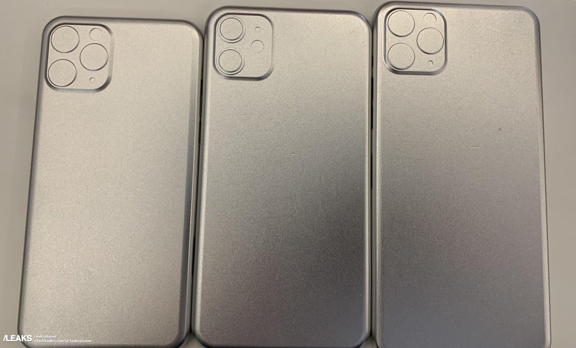 stampo iPhone Xi e iPhone XI Max
