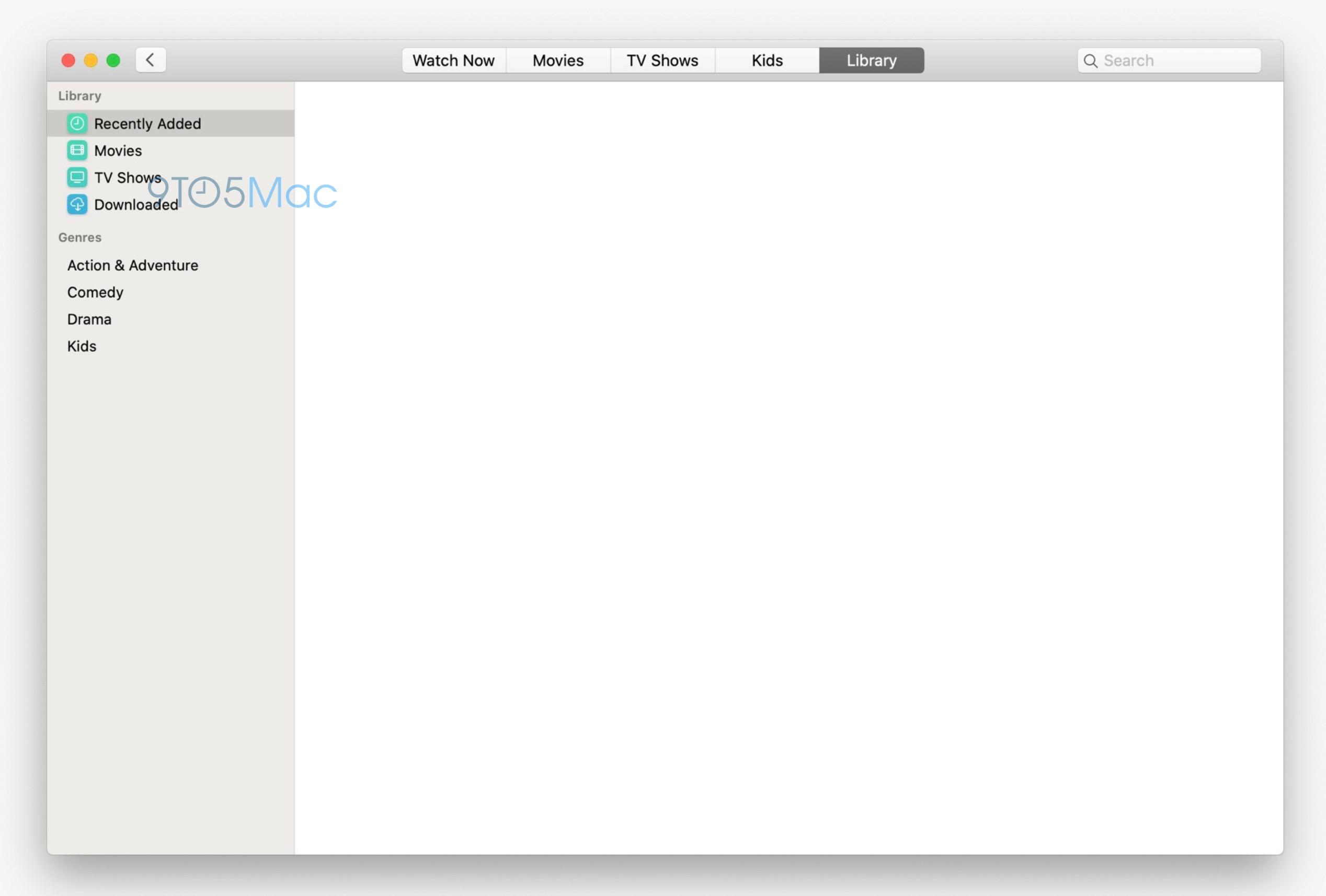 Ecco le prime immagini delle nuove app Music e TV di macOS 10.15 2