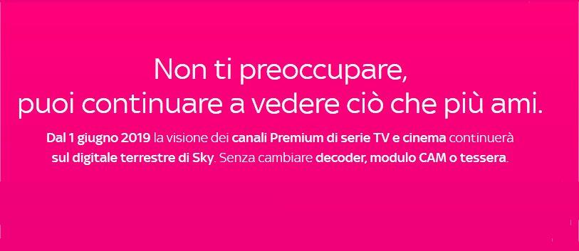 Mediaset Premium ancora accessibile sul Digitale Terrestre ma solo per gli abbonati a Sky 1