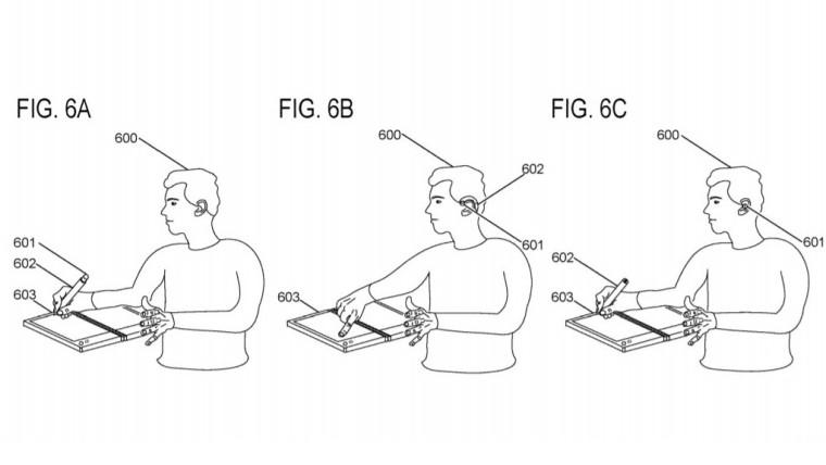 Microsoft brevetta una stylus flessibile che si trasforma in auricolare 1