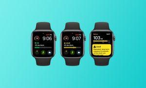 App Rumore watchOS 6