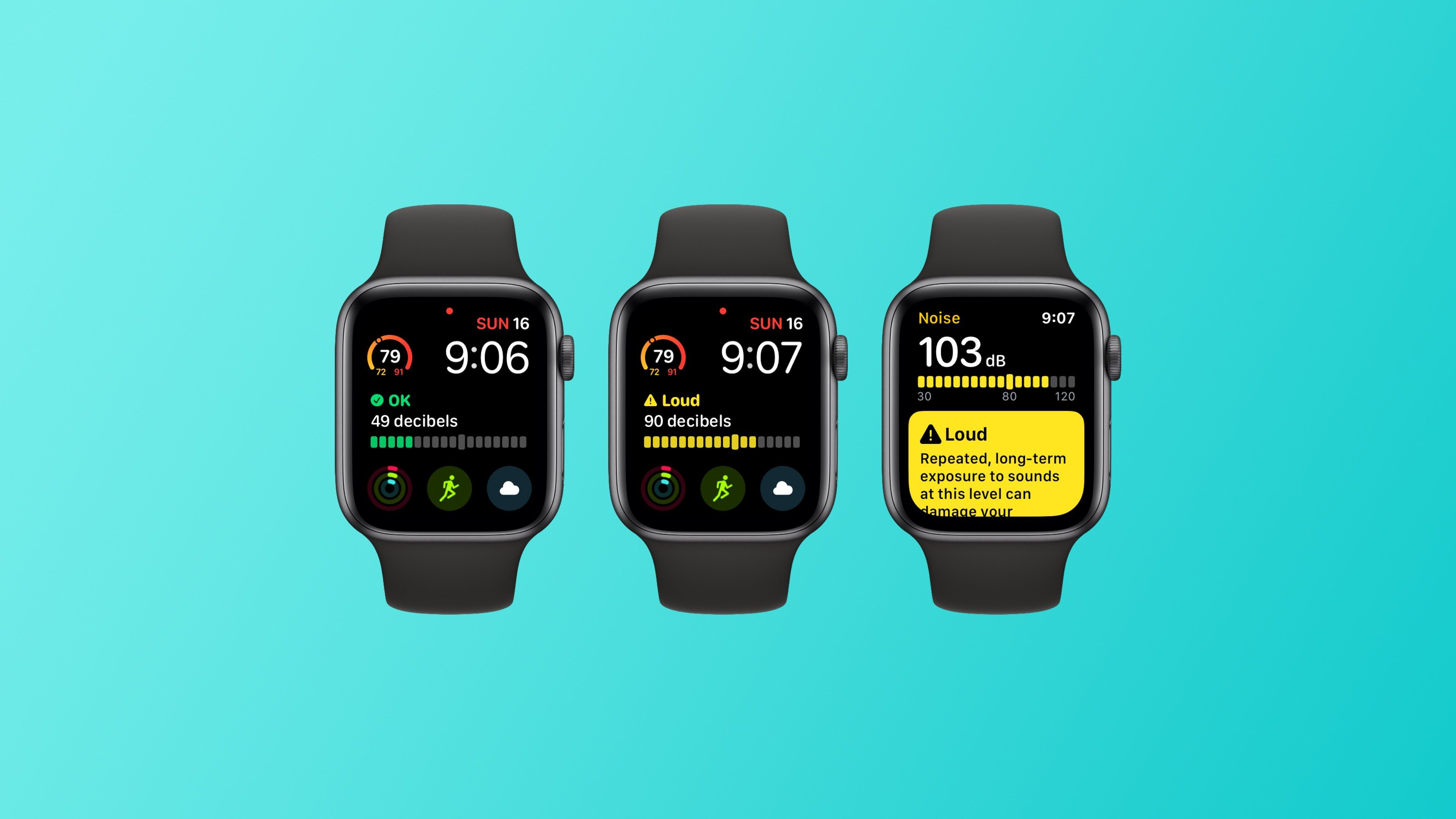 App Rumore watchOS 6