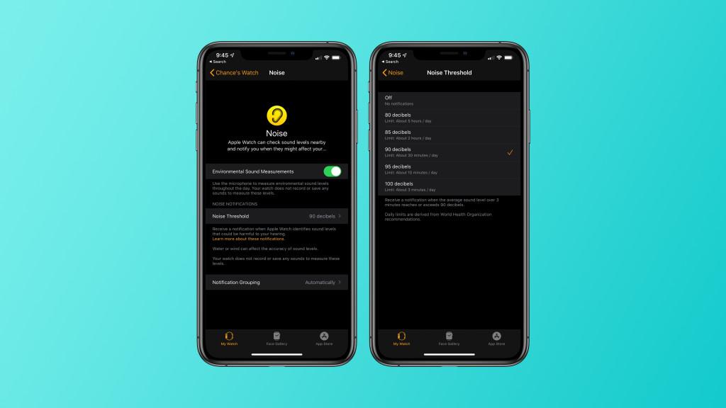 Ecco come l'app Noise di watchOS 6 aiuta a mantenere più sano l'udito 1