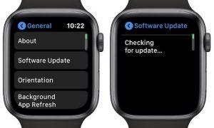 Apple Watch aggiornamenti OTA watchOS 6