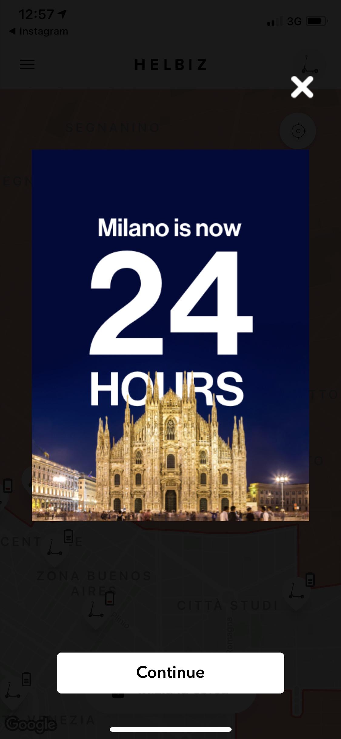 Helbiz estende il servizio a Milano anche alla notte 1