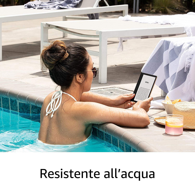 Amazon lancia il Nuovo Kindle Oasis 2019, ebook reader top di gamma che non scende a compromessi 2