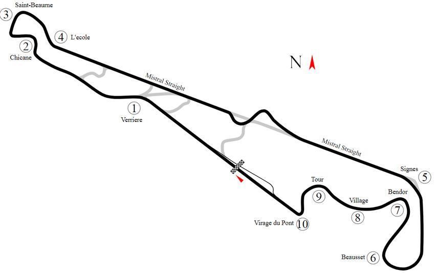 Come vedere il GP di Formula 1 di Francia 2019 in Streaming e TV 1