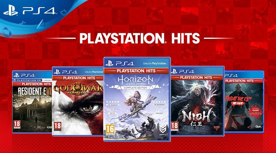 PlayStation Hits nuove aggiunge giugno 2019