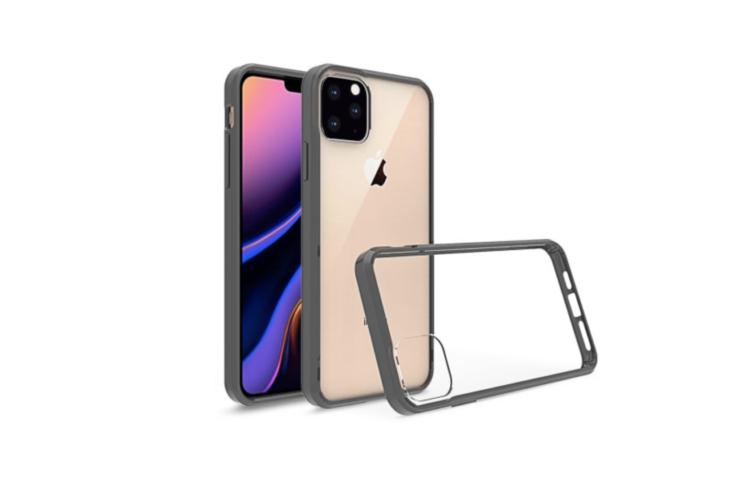 Nuovi render delle cover di iPhone XI Max confermano la tripla fotocamera posteriore 5