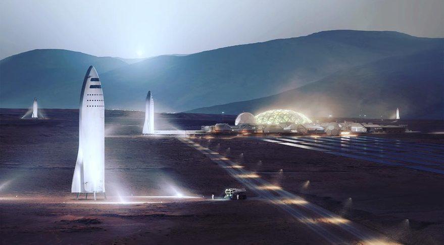 SpaceX prevede di lanciare il Falcon Super Heavy e la Starship già nel 2021 1