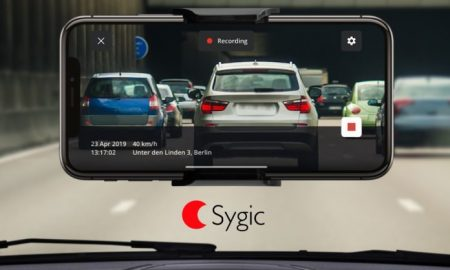 Sygic per iPhone dashcam