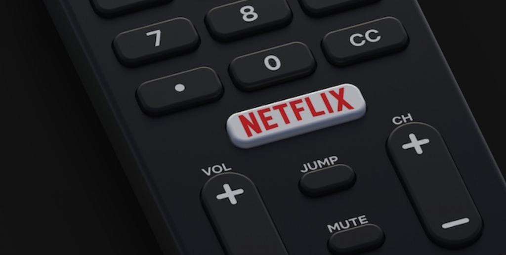 Telecomando tasto Netflix
