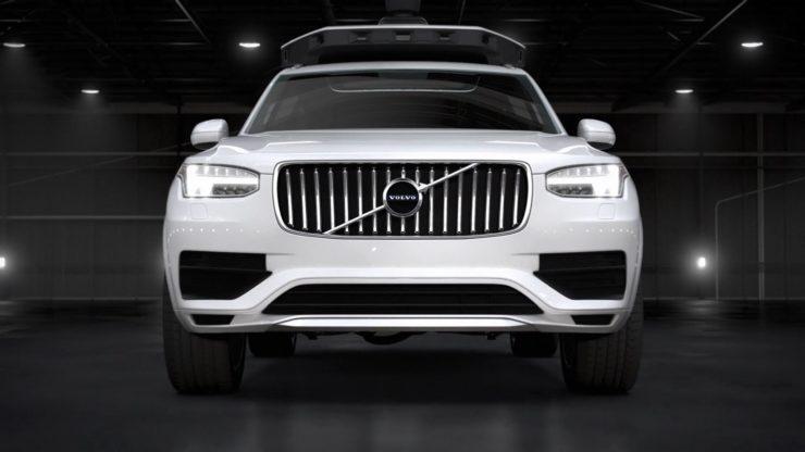 Volvo Cars e Uber collaborano per la prima macchina a guida autonoma 1