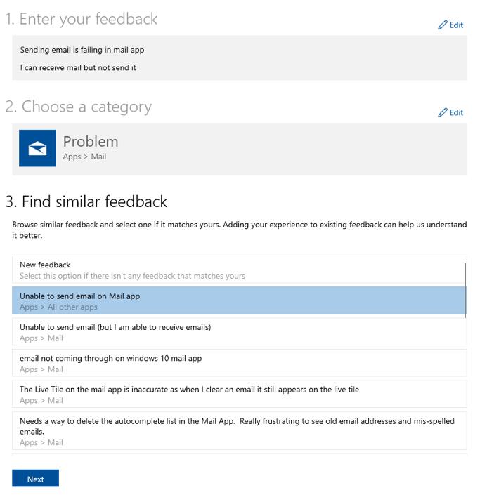Microsoft semplifica la segnalazione di bug in Windows 10 1