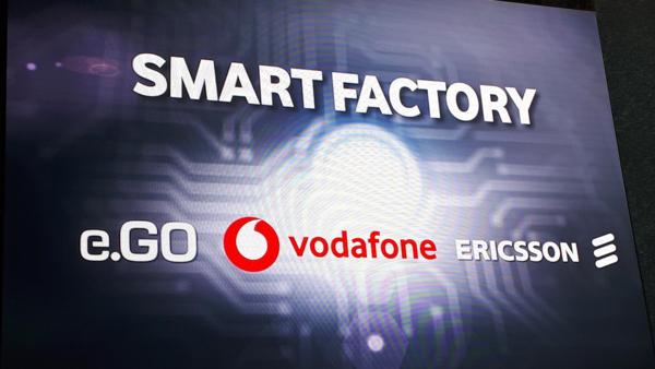 e.GO Mobile AG, Ericsson e Vodafone Germania rete 5G
