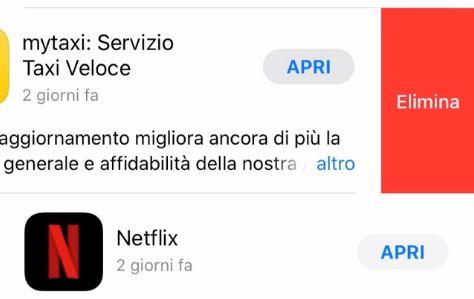 iOS 13 e iPadOS permettono di disinstallare le app anche dagli aggiornamenti dell'App Store 1