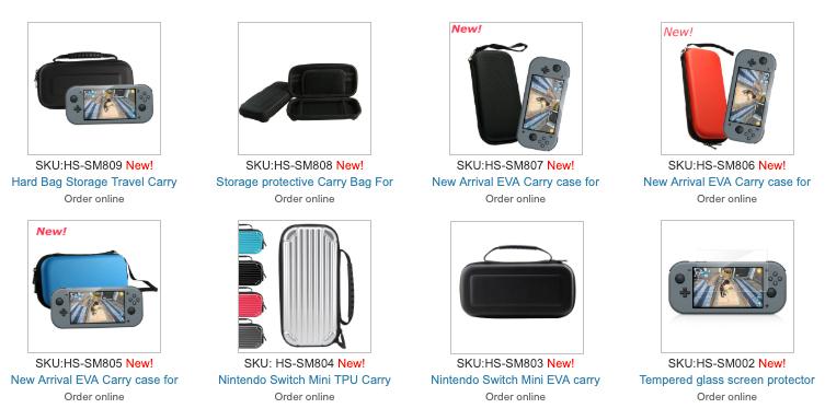 Sarà questa la Nintendo Switch Mini? 1