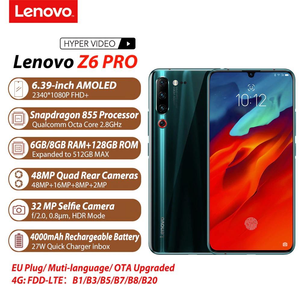 Lenovo Z6 Pro è in prevendita dal 7 giugno a meno di 350 euro 1