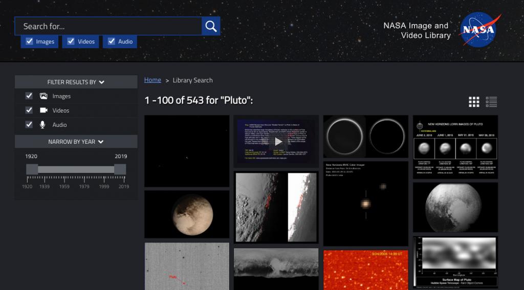 Ecco come accedere gratuitamente all'archivio di video e immagini della NASA 1