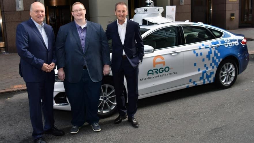 Ford userà la piattaforma MEB di Volkswagen e la Argo AI per le auto elettriche a guida autonoma 2