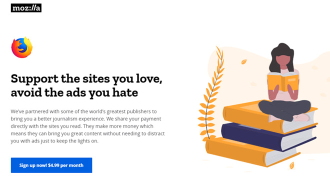 Firefox competitor Apple News+