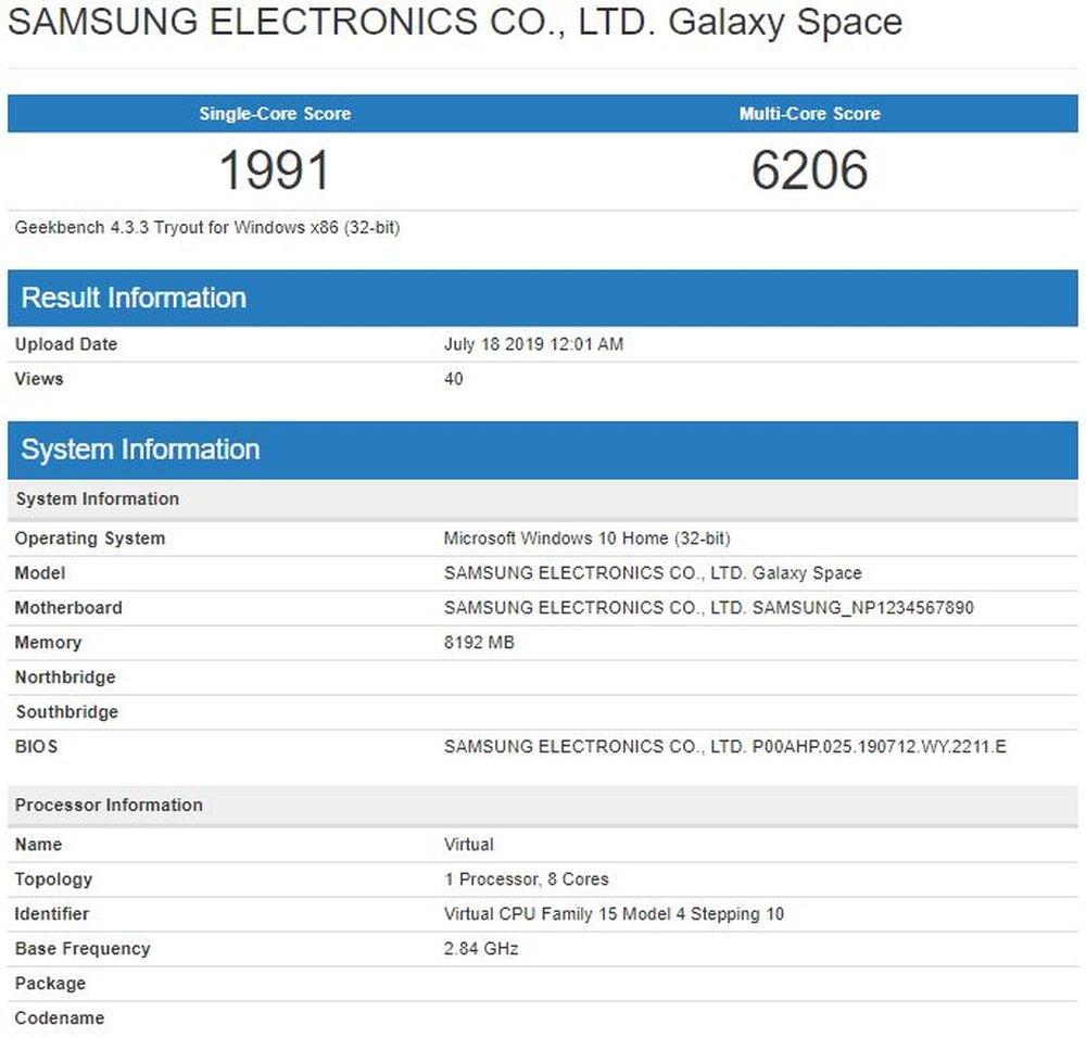 Samsung Galaxy Book S vicino al debutto | Certificazione Bluetooth 2