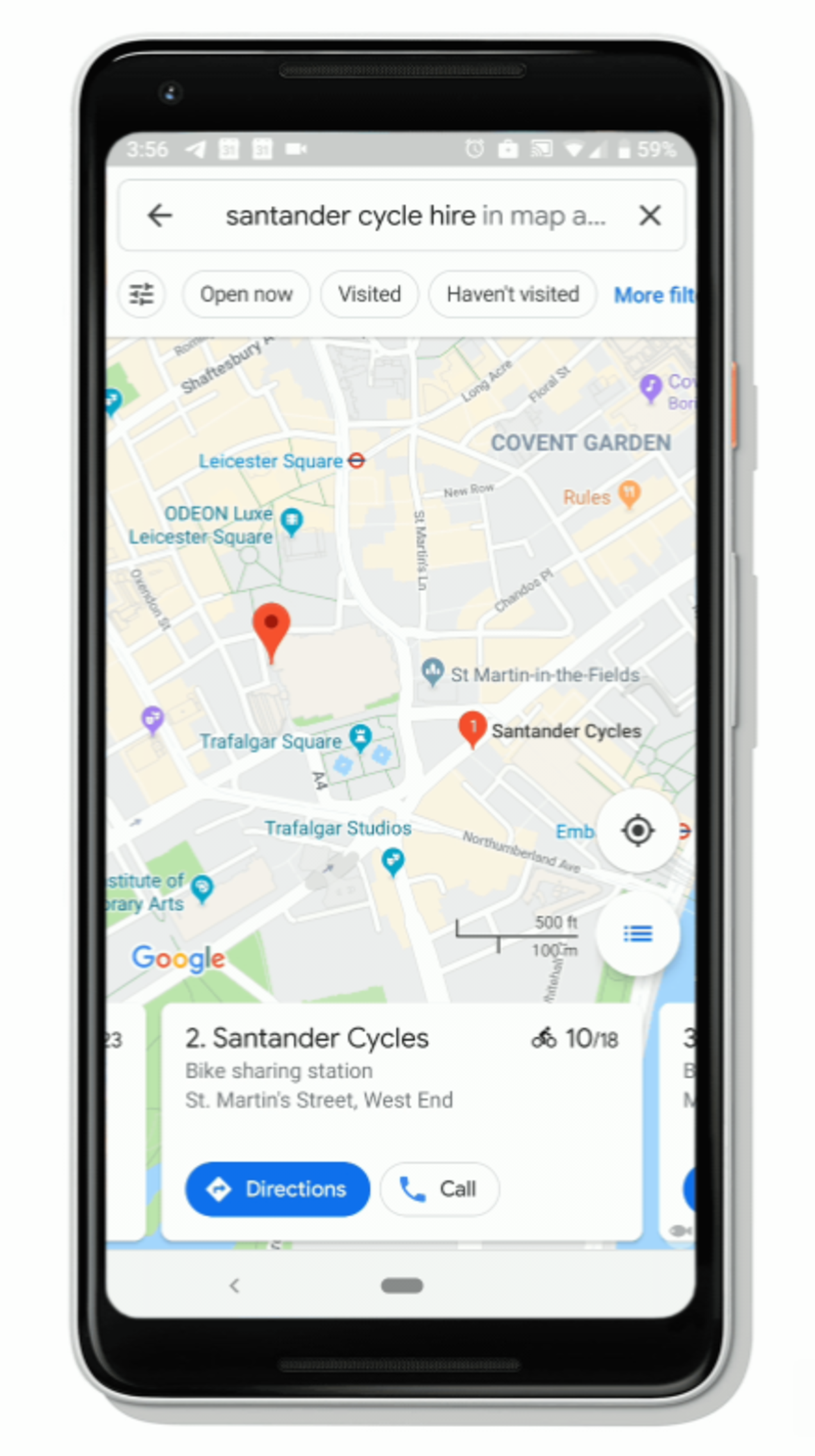 Google Maps ora mostra i dati del bike sharing in 24 nuove città 1