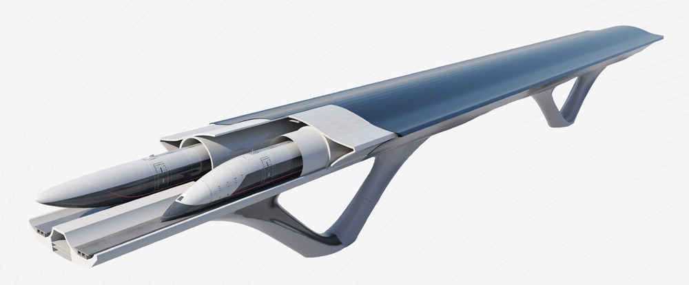 Hyperloop arriverà in Italia con due tratte da 150 KM 1