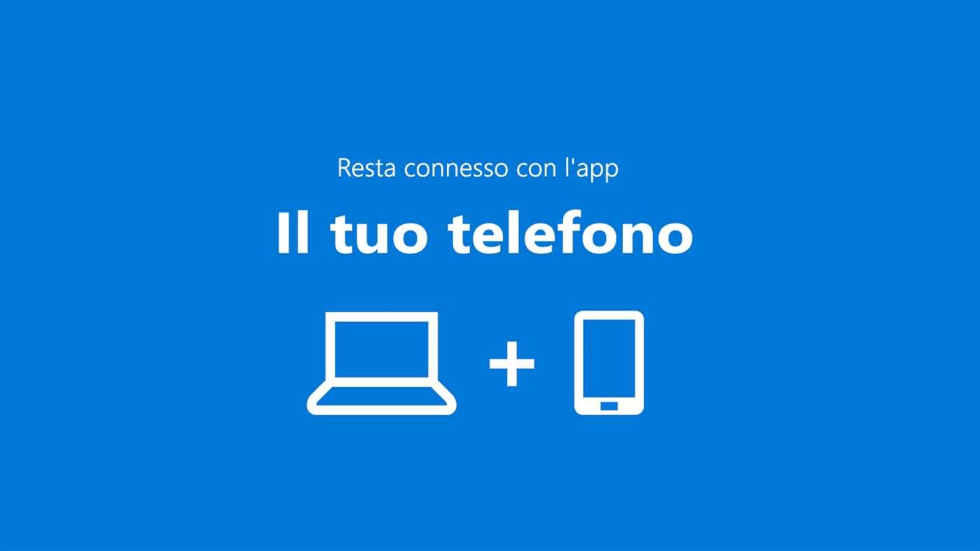 Il Tuo Telefono Windows 10