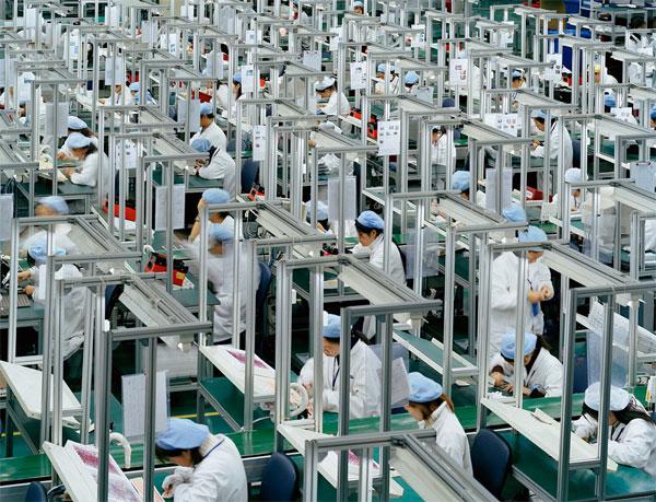Produzione elettronica in Cina