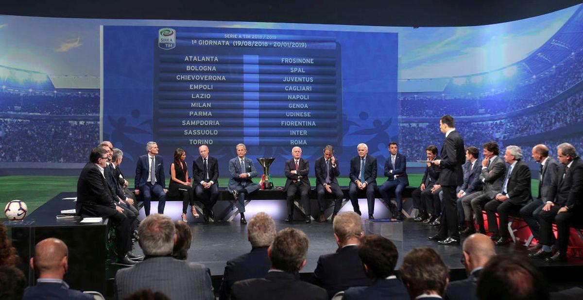 Quando e come guardare il sorteggio del calendario di Serie A 2019 - 2020 in TV e Streaming