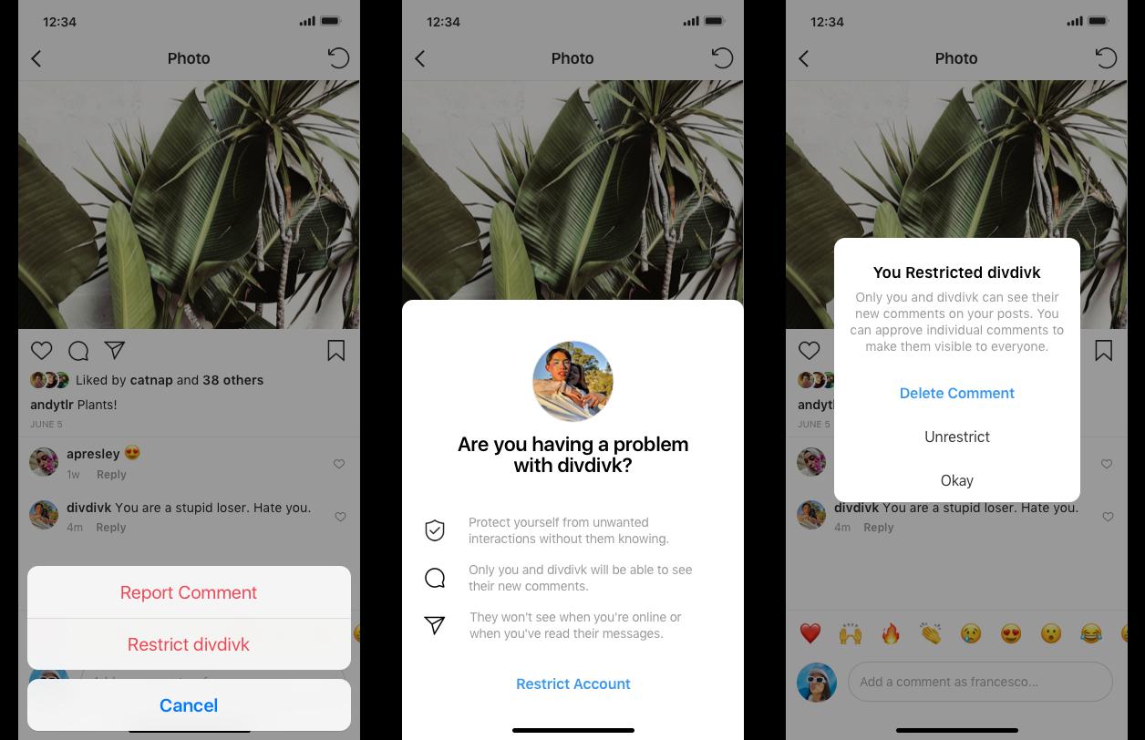 Instagram testerà una funzione estremamente utile per difendersi dal cyberbullismo 1