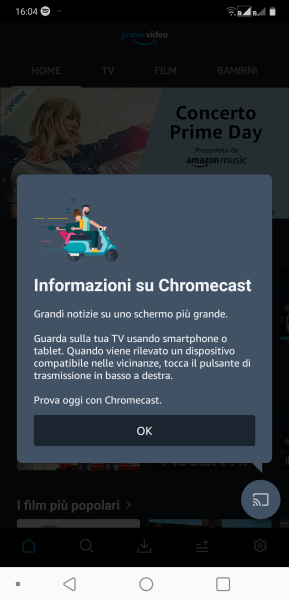 Amazon Prime Video supporta Chromecast e YouTube torna finalmente su Fire Stick e Fire TV 1